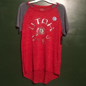 🔵Blue 84 Women's X Large Utah Red Soft Sports Top